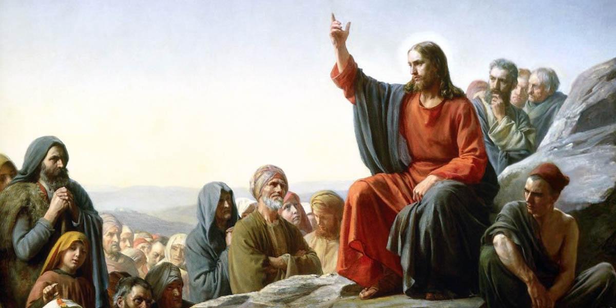 JESUS ON A MOUNT,SERMON