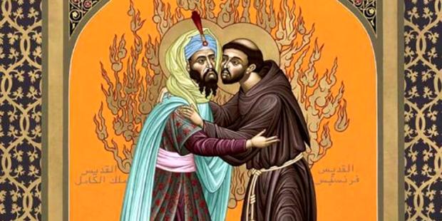 encontro s francisco e sultão