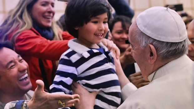 Felipe e Papa Francisco