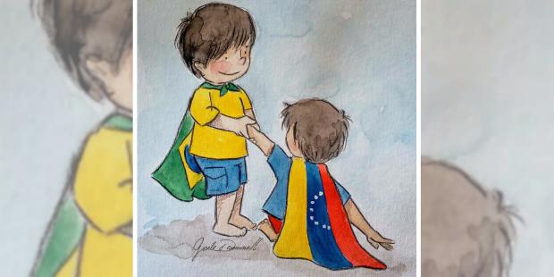 Ajuda Brasil Venezuela