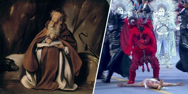 Santo Antão x desfile carnaval