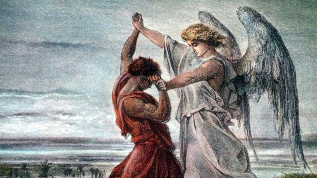 JACOB WRESTLING WITH THE ANGEL