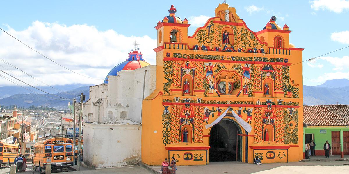 SAN ANDRES XECUL CHURCH; GUATEMALA