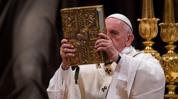 Papa Francisco e a Bíblia