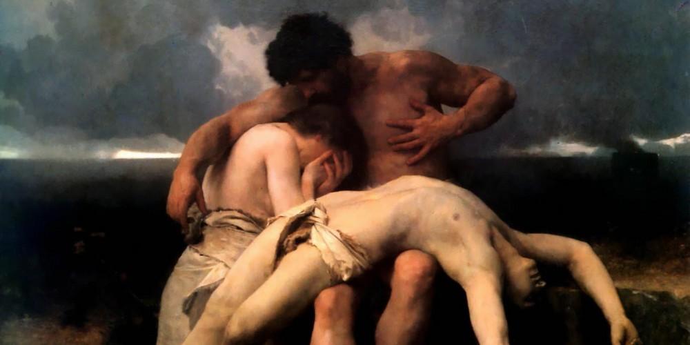 Adão, Eva, Caim, Abel, primeiro luto