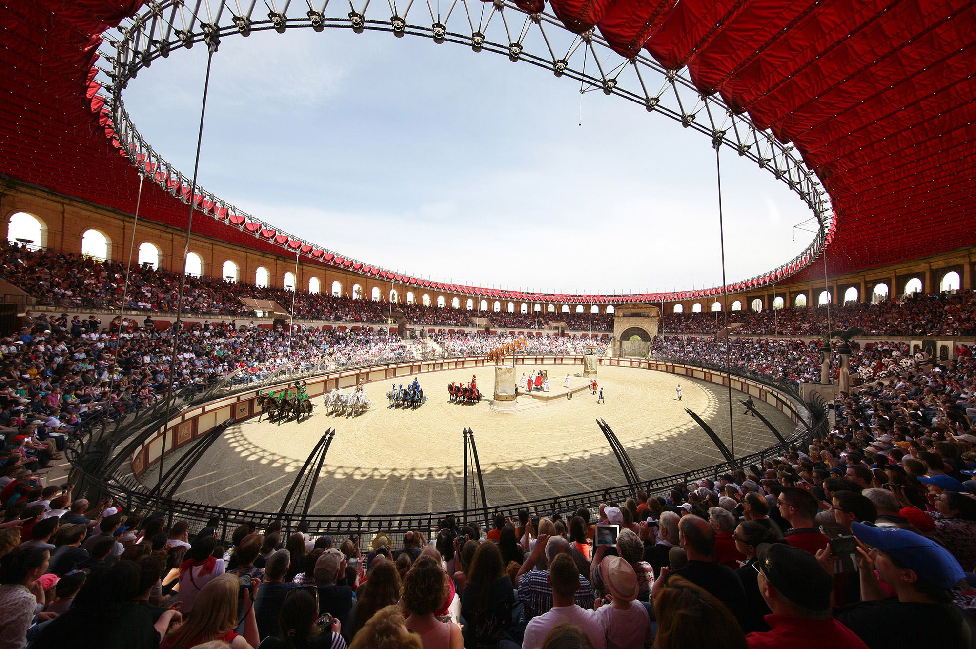PUY DU FOU; ARENA; FRENCH AMUSEMENT PARK