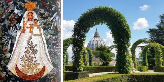 jardins vaticanos nossa senhora equador