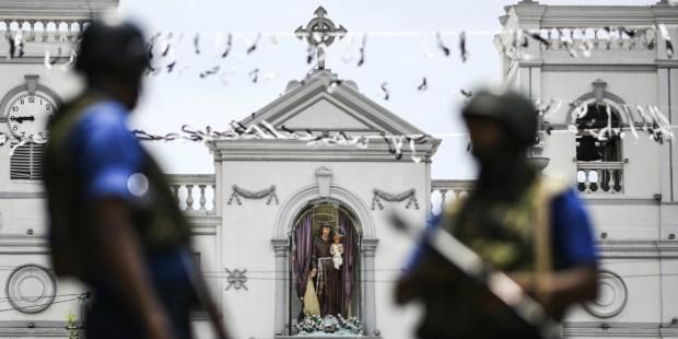 SRI LANKA ; CHURCH ; COLOMBO