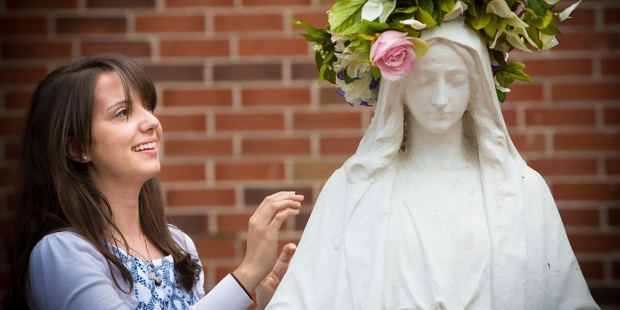 CROWNING MOTHER MARY