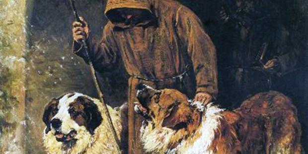 SAINT BENARD DOGS