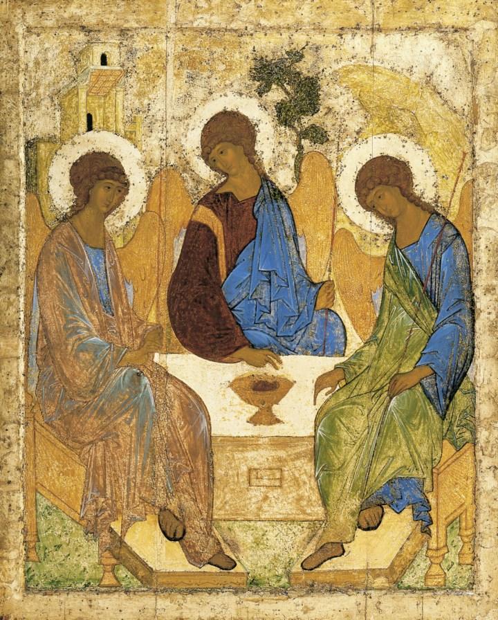 Ícone de Rublev