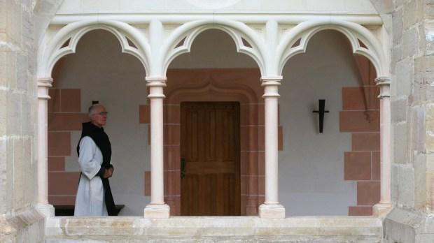 Moine cistercien de l'abbaye de Citeaux