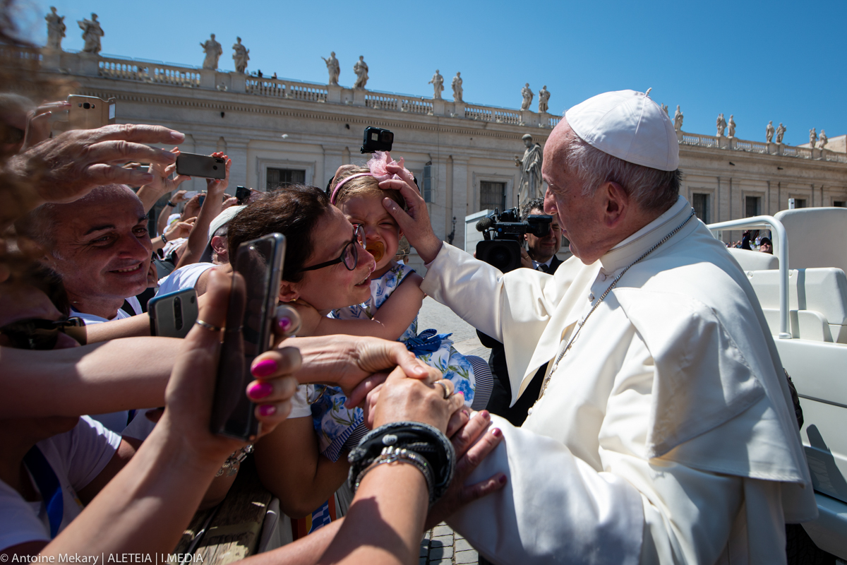 POPE AUDIENCE JUNE 26; 2019