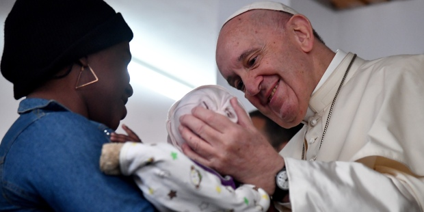 pope francis mozambique