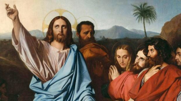 Jesus e São Pedro