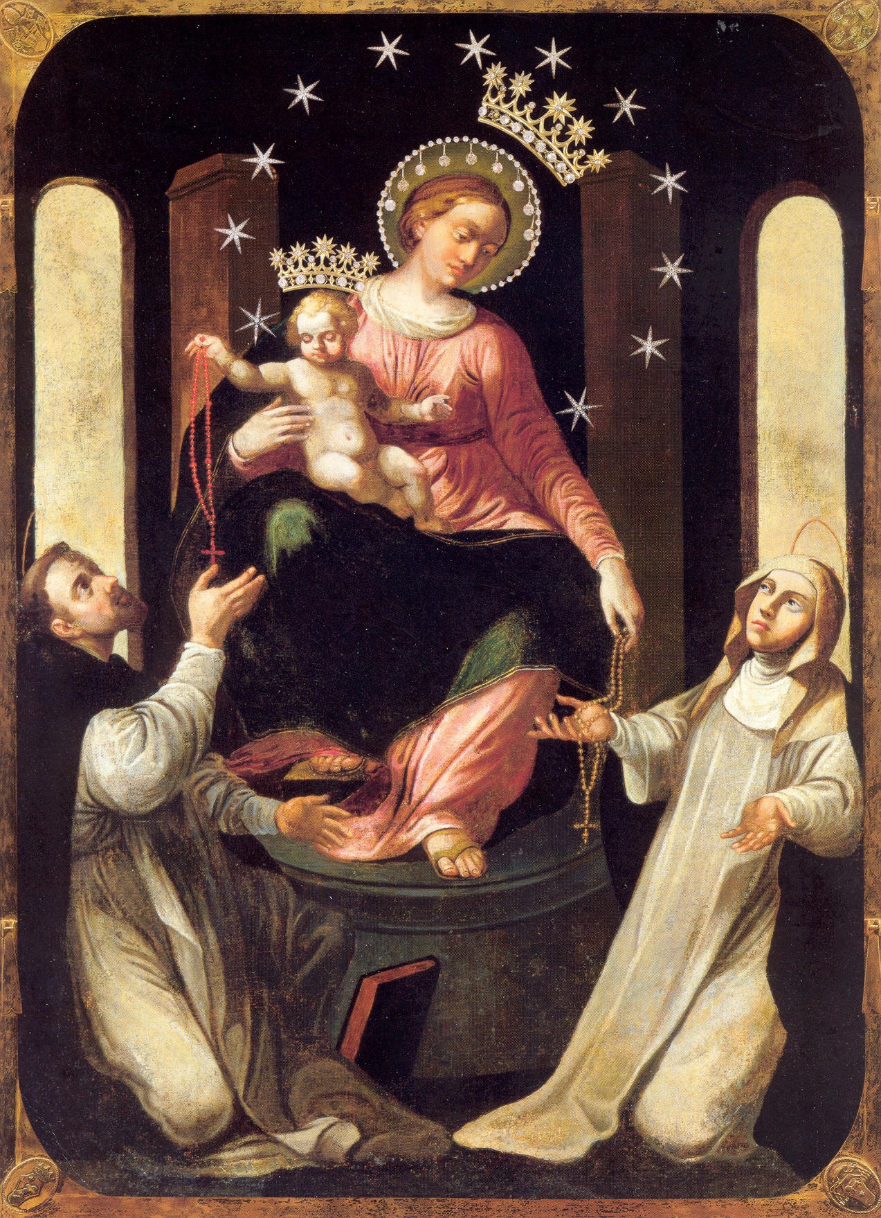 BLESSED VIRGIN OF THE ROSARY OF POMPEI