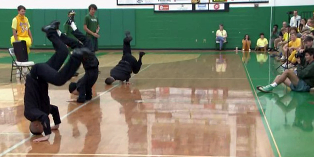 BREAKDANCING PRIESTS