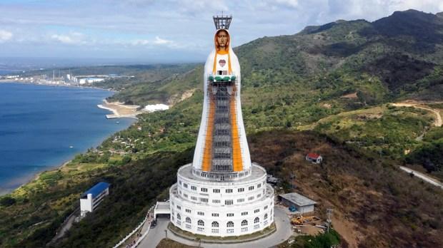 Mãe de Toda a Ásia, no Monte Maria, é a maior estátua de Maria do mundo