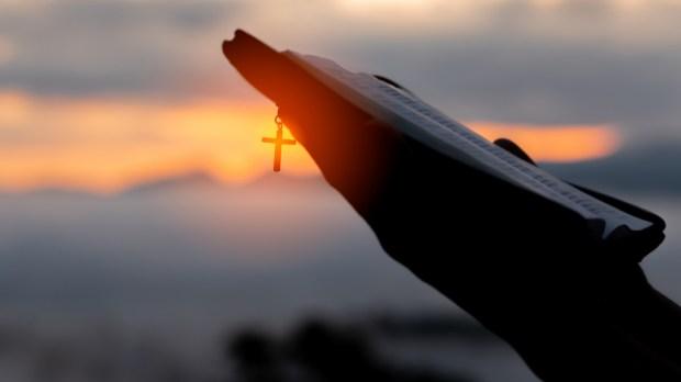 Bible - Pray - Cross