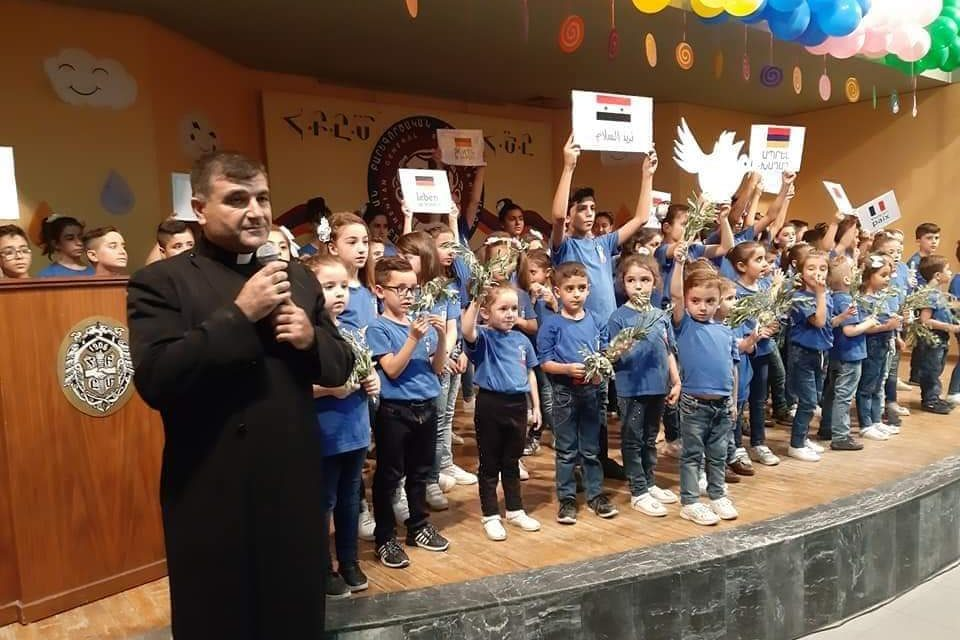 SYRIAN PRIEST KILLED;AID TO THE CHURCH IN NEED