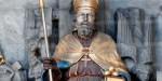 St Nicolas of Myre statue