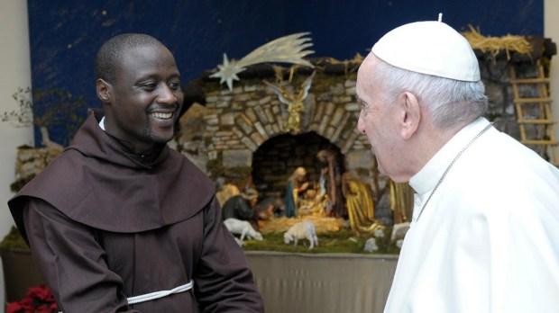 Peter Tabichi e o Papa Francisco