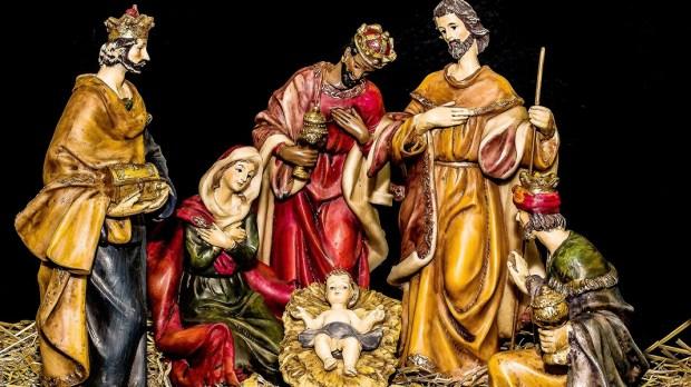Presentes dos Reis Magos a Jesus