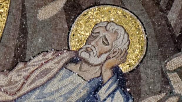SAINT JOSEPH SLEEPS