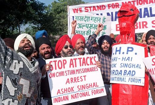 Perseguição contra cristãos na Índia