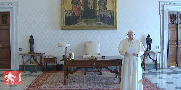 Papa Francisco oração Pai Nosso