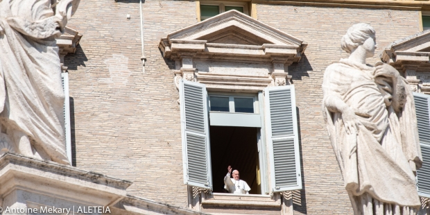POPE ANGELUS COVID-19
