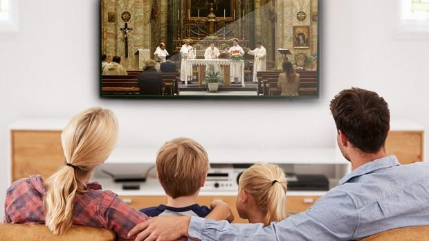 Missa via TV
