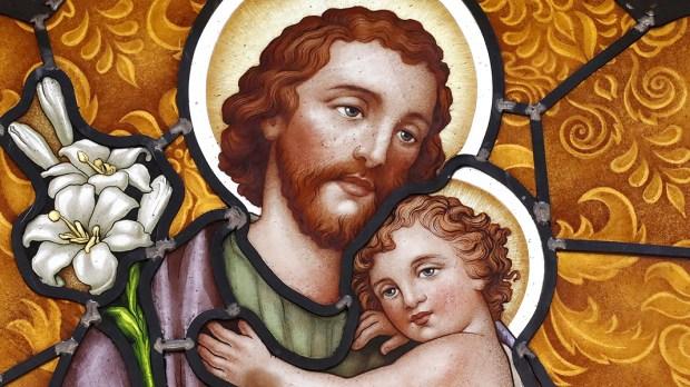 São José e o Menino Jesus