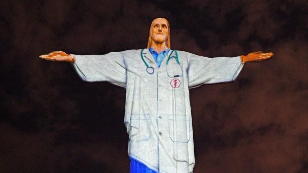 Cristo Redentor como médico