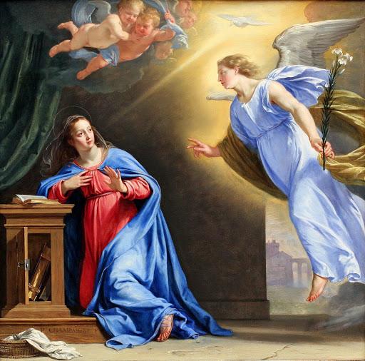 São Gabriel anuncia a Maria