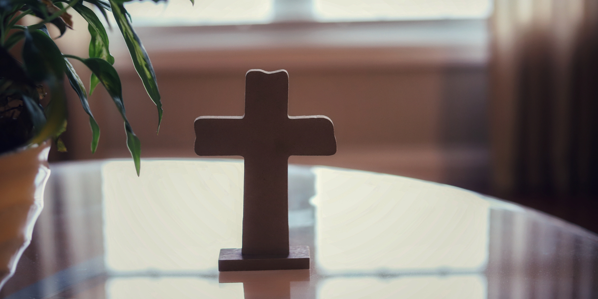 Cross, Prayer, Home, Holy Week