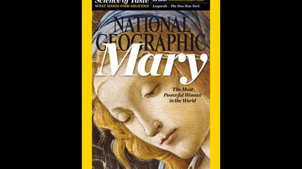 Maria na capa da National Geographic