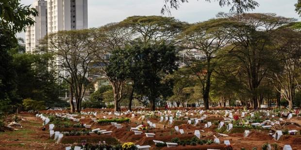 Cemitério Vila Formosa em São Paulo