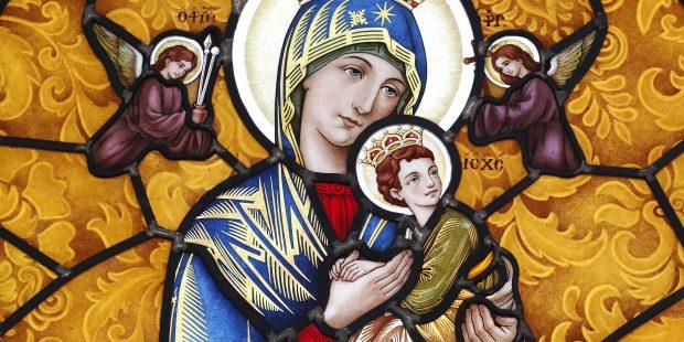 Nossa Senhora, Virgem Maria, com o Menino Jesus