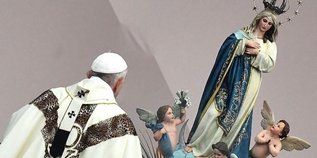 PAPIEŻ FRANCISZEK O MARYI