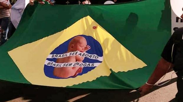 Brasil pró-vida e contra o aborto