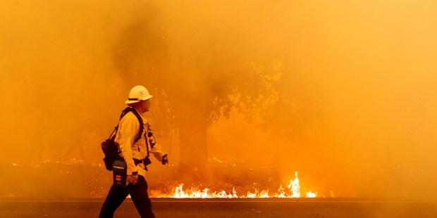 fogo Califórnia incêndio