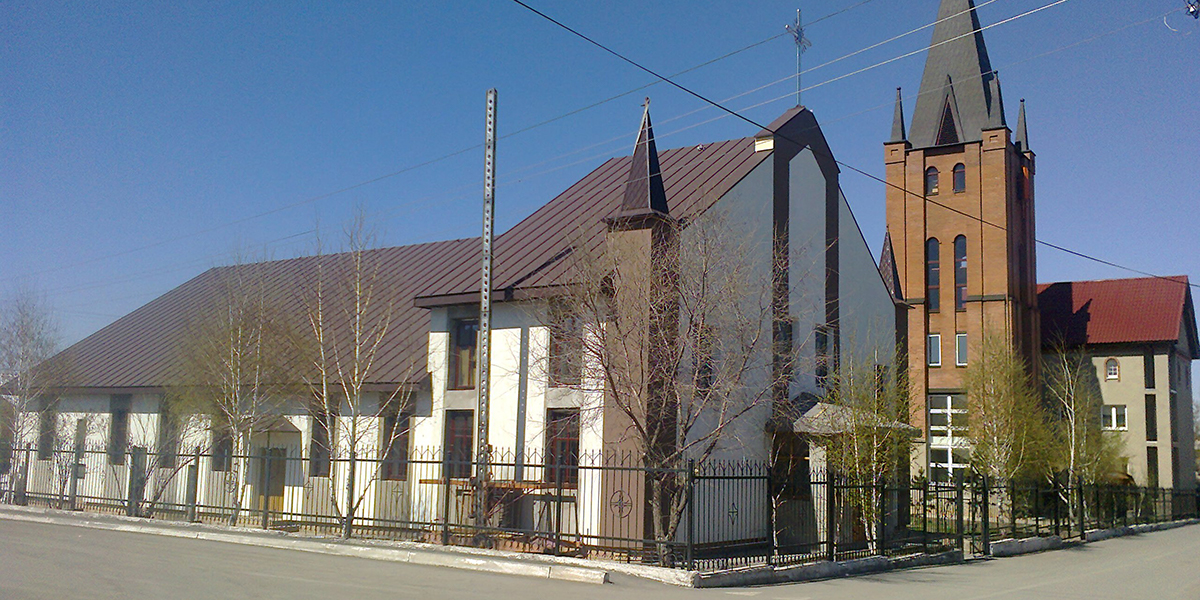 Minor Basilica of St. Joseph in Karaganda, Kazakhstan