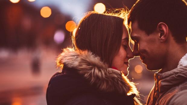 COUPLE, LOVE, NIGHT