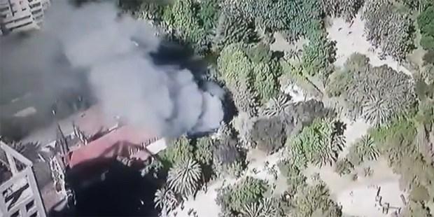 Igrejas queimadas no Chile