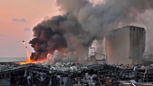 Líbano sofre com explosão em Beirute