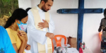 Pe. Gabriel Vila Verde e a lata de leite em pó com incenso