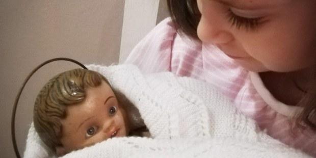 Menino Jesus com criança