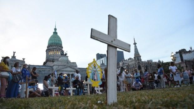 Argentinos contra o aborto