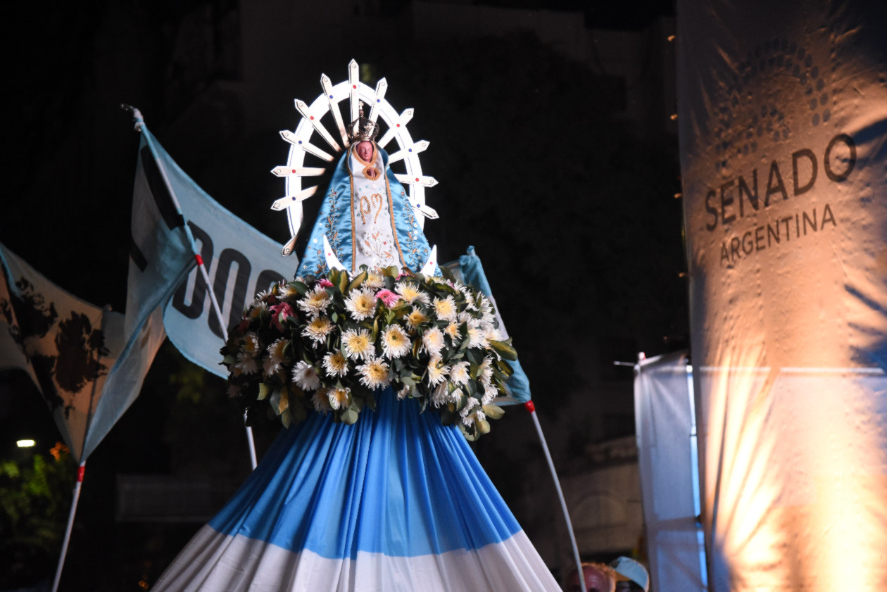 Pró-vida contra aborto na Argentina